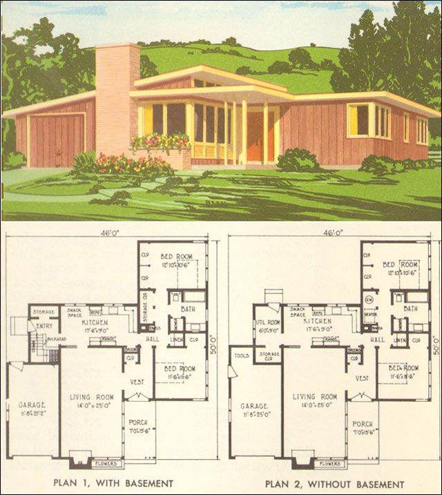 Design Components Of Modern House Plans Civil