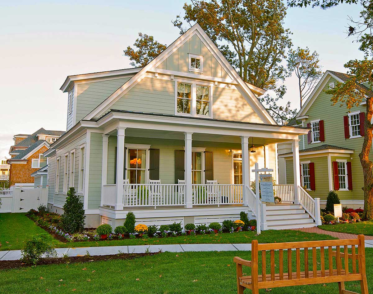 A range of  energy-efficient small home plans in a variety of charming styles